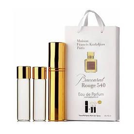 Мини-парфюм с феромонами унисекс Maison Francis Kurkdjian Baccarat Rouge 540 3х15 мл