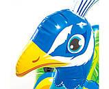 Надувной плот для катания Intex 57250 Павлин 193x163x94 см + подарок, фото 3
