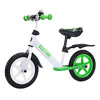 Детский беговел-велобег 12 дюймов Vector T-21256/1 Green