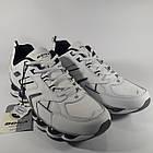Кроссовки кожаные Bona р.45 белые, фото 9