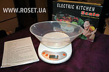 Електронні Кухонні Ваги з Чашею ― Electric Kitchen Scale Weighing