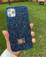 Блестящий чехол айфон 11 Swarovski