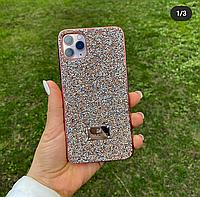 Чехлы на Iphone 12 в стразах