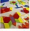 "Геометрична мозаїка ""Склади візерунок"" 130 деталей. З картками-зразками., фото 3"