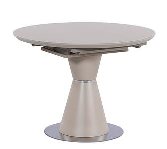 ТМL-651-1 стол раскладной 105/145 матовый капучино TM Vetro Mebel