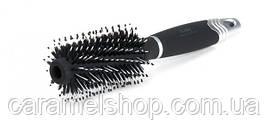 Брашинг для волосся Dagg premium зі щетиною 2625TSP чорний діаметр 5,5 см