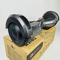 Гироскутер Smart Balance 8 Карбон для взрослых и детей   Надежный гироборд Смарт Баланс черный с подсветкой