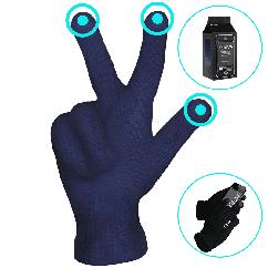 Перчатки iGlove Navy Blue для сенсорных экранов