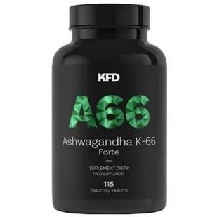 KFD Ashwagandha K-66 Forte, 115 таблеток