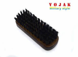 Щітка для взуття з дерев'яною колодкою (140 мм)