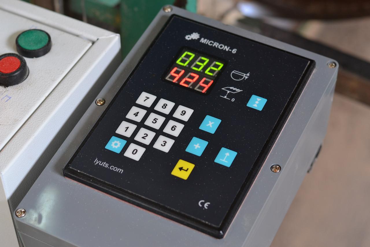 """Електронна лінійка на пилораму """"Micron-6"""" + CL-80 датчик"""