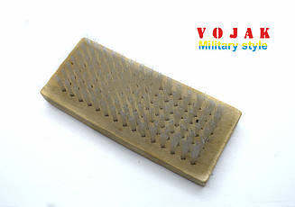 Щітка для взуття з дерев'яною колодкою (130 мм)