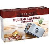 Коптильня балконная с термометром, BROWIN (Польша), фото 10