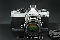 Nikon FM kit Nikkor 50mm f1.8 Ai, фото 1