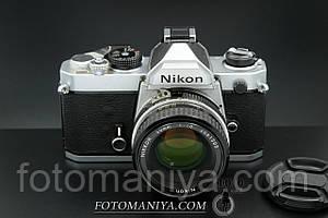 Nikon FM kit Nikkor 50mm f1.8 Ai