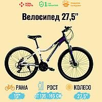 """Спортивный велосипед Unicorn - Calibry,  Колеса 27,5.Рама 15"""",  Алюминий Фиолетовый"""