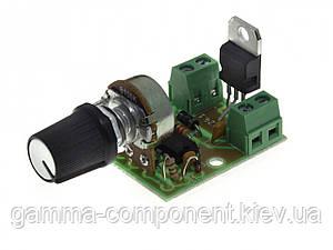 Модуль регулятор PWM 0.3 KW обертання двигуна постійного струму M124.1