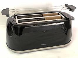 Електричний тостер бутербродниця тостерница на 4 тосту Ambiano GT-TDLS-E-01 Чорний