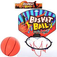 Баскетбольне кільце MR 0128 (96шт) щит 28-21-картон,кольцо17см-пластик,сітка,м'яч,в кульку,30-30-2см