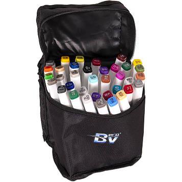 Скетч маркери двосторонні професійні 36 цв в сумці