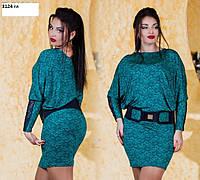 Платье стильное больших размеров 3124 гл