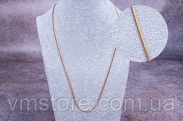 Цепочка питон широкая, женская цепочка, качественная бижутерия, 50 см