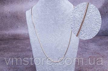 Цепочка женская питон, тоненькая, 50 см длина