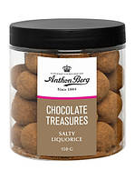 Anthon Berg Salty Chocolate Liquorice 150г