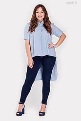 Жіноча сорочка Урбіно (блакитний) 0307171