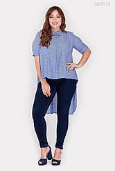 Жіноча сорочка Урбіно (джинс) 0307173