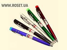 Шариковая Ручка 3 в 1 - лазер+фонарик
