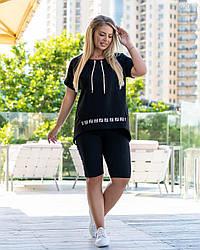 Спортивний стиль Спорт - шик №9 (чорний) 2106201