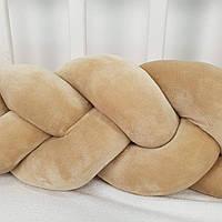 Бортик для дитячого ліжечка косичка  120 см