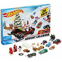 Адвент календар Машинки Hot Wheels Advent Calendar 2019 Mattel DXH60