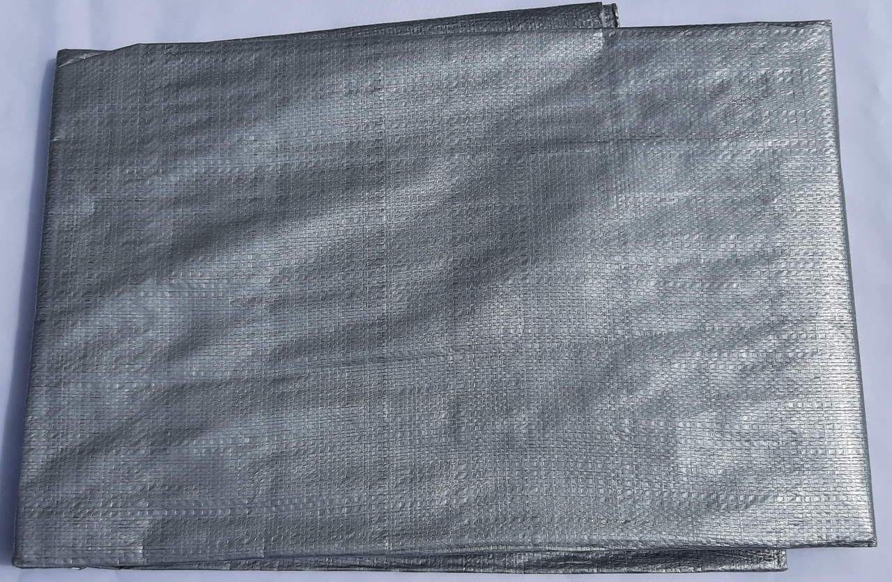 "Тент ""Серый"" 6х10м, плотность 150 г/м2"