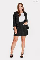 Жіночий костюм Шербурк (чорний) 0407193