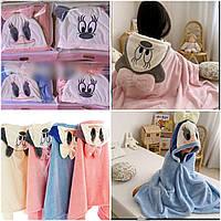 Детское полотенце с уголком микрофибра