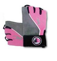 Перчатки женские BioTech Pink Fit Gloves (grey-pink) (S, M, L, XL)