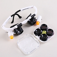 Лупа бинокулярная Magnifier 9892RD 25x