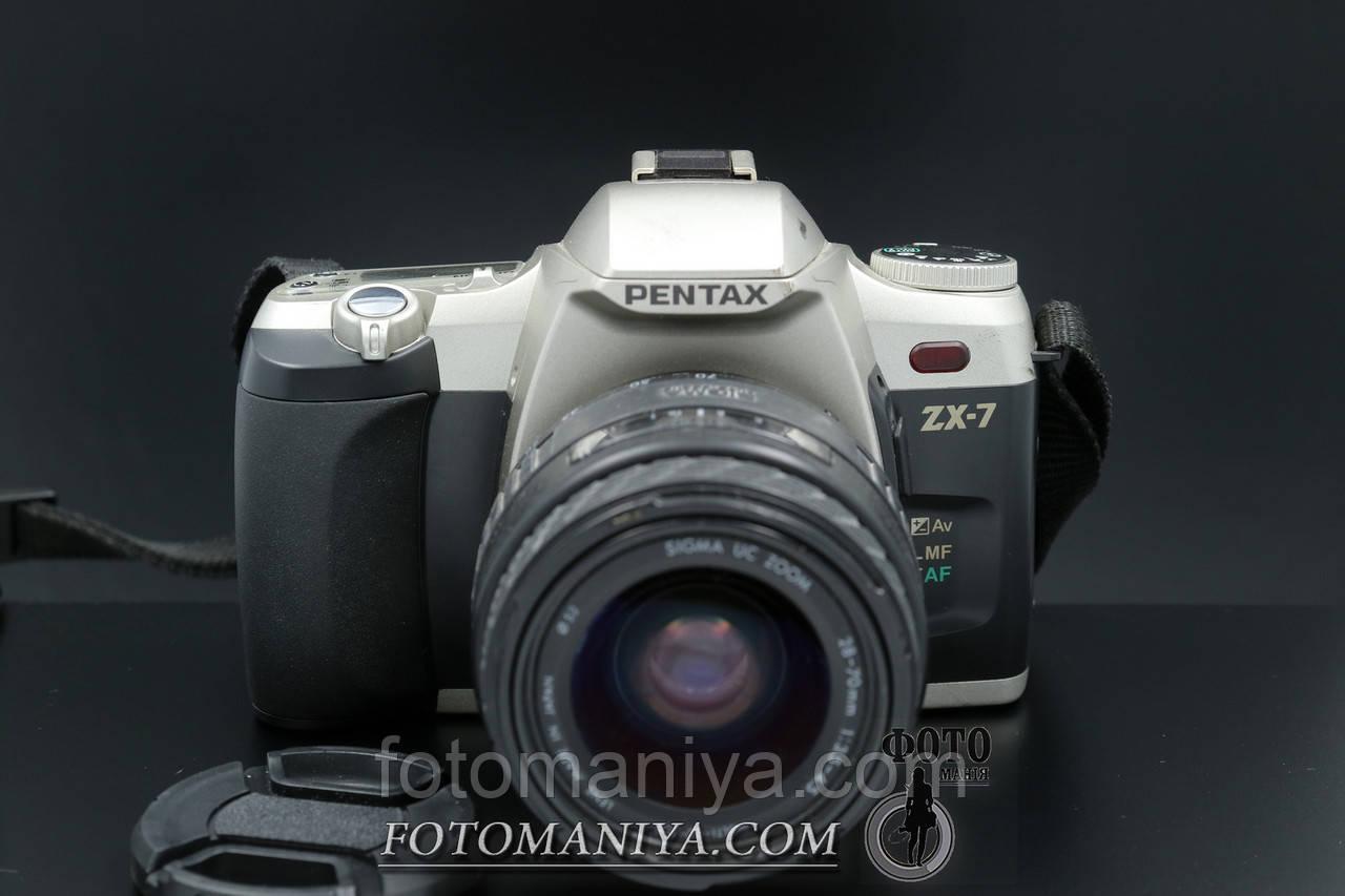 Pentax ZX-7 kit AF Sigma MC 28-70mm f3.5-4.5