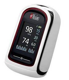 Пульсоксиметр  Masimo MightySat Fingertip уровень кислорода в крови, частота дыхания