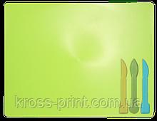 Дошка для пластиліну + 3 стека для ліплення, чорний