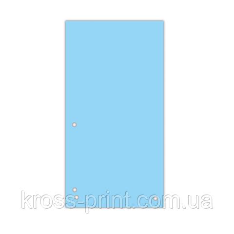 Індекс-роздільник 105х230 мм, 100шт., картон, синій