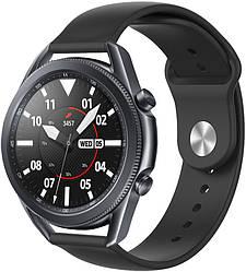 Ремешок Base для Galaxy Watch 3 45mm Black (22 мм) (Самсунг Галакси Вотч 3 45 мм)