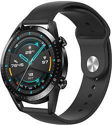Ремешок Base для Huawei Watch GT Black (22 мм) (Хуавей Вотч Джи Ти)