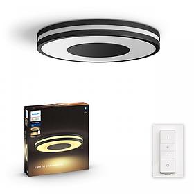Розумний світлодіодний стельовий світильник Philips Hue Being White ambiance (Вимикач в комплекті)
