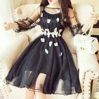 Плаття нарядне чорне 133