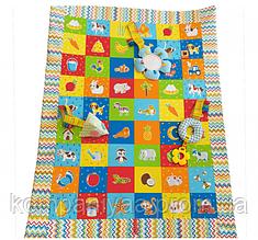 Дитячий розвиваючий ігровий килимок з підвісними іграшками МС 040201-05