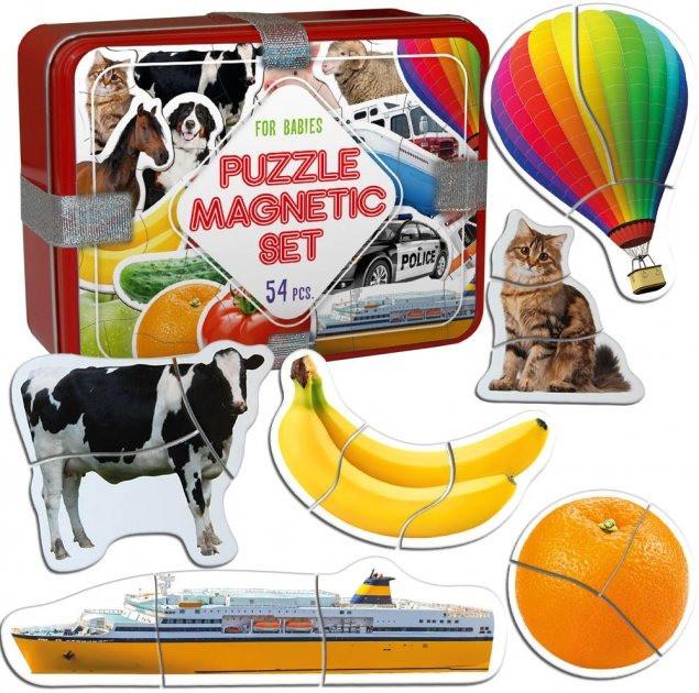 """Набір магнітних пазлів Magdum """"Baby puzzle"""" ML4031-62 EN"""