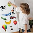 """Набір магнітних пазлів Magdum """"Baby puzzle"""" ML4031-62 EN, фото 5"""